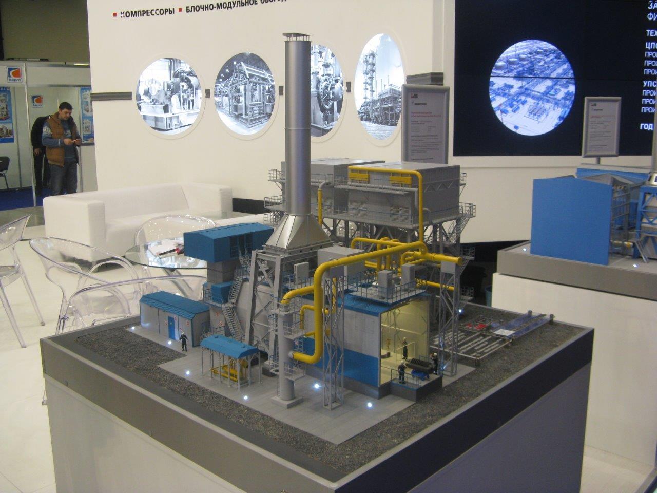 Полнокомплектный ГПА на базе турбокомпрессора 6ГЦ2-375/4-77 ГТУ